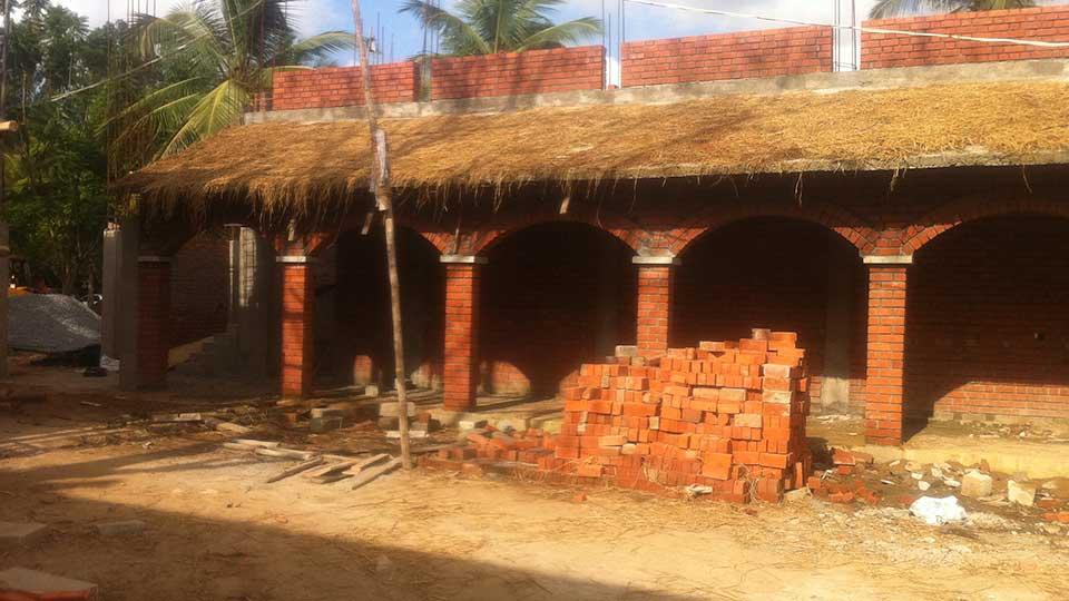 Brick Arch With Pillars