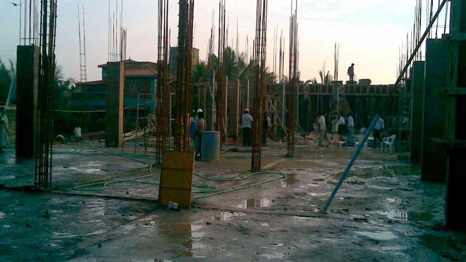 Parandam - Shuttering Work