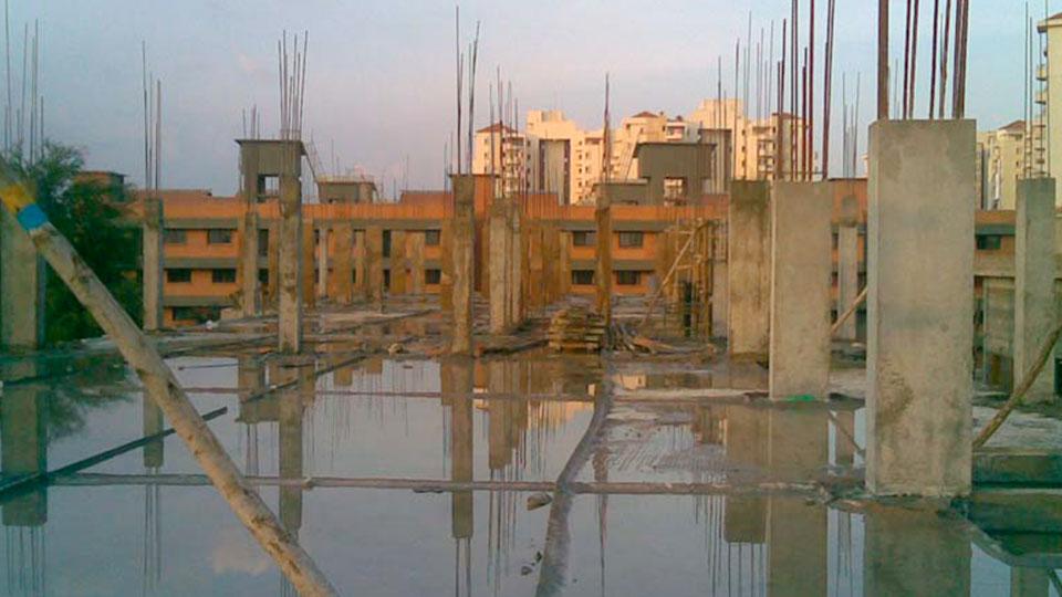 Second Floor Columns