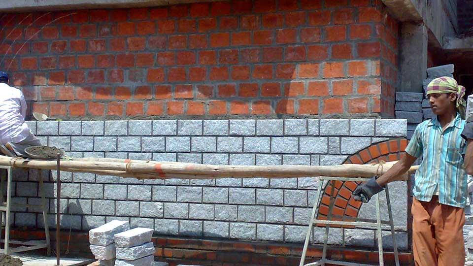 stone-clading